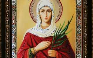 Икона святой Татьяны — великомученица и покровительница студентов
