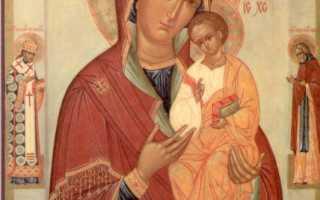 Песчанская икона Божией Матери —  исцеление от всех недугов