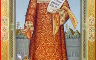 Икона Романа Сладкопевца — один из основоположников церковного пения