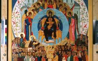 Икона Божией Матери «О Тебе радуется»