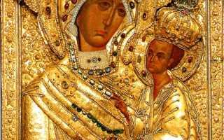 Тихвинская икона Божией Матери —  исцеление от всех недугов