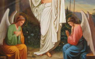 Икона Воскресение Христово  — описание святого образа