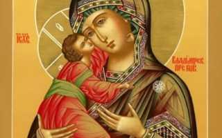 Владимирская икона Божией Матери — сила молитвы к ней