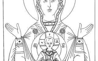 Икона Божией Матери «Знамение» — значение святого образа для христианского мира