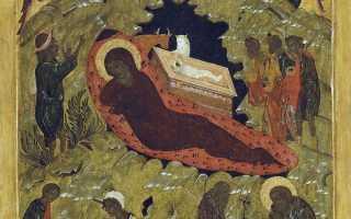 Икона «Рождество Христово» — описание святого лика