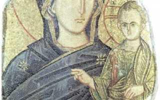 Смоленская икона Божией Матери — иконография образа