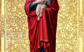 Валаамская икона Божией Матери —  исцеление от всех недугов