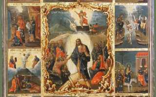 Иконы двунадесятых праздников
