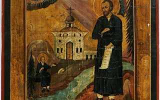 Икона Симеона Верхотурского — почитание святого лика