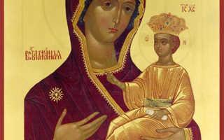 Икона Божией Матери «Всеблаженная»
