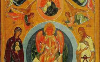 Икона «София Премудрость Божия» — описание святого лика