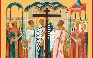 Икона Воздвижения Креста Господня — правила праздника