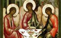 Образы Святой Троицы— толкование святой иконы