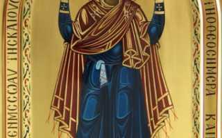 Икона «Нерушимая стена» —  значение святого образа для христианского мира