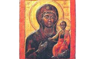 Влахернская икона Божией Матери — святыня рода Головиных