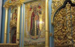 Икона Божией Матери «Всех ангелов радость»